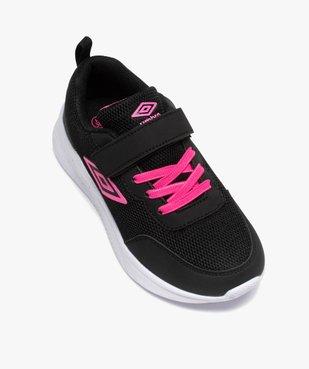 Chaussures de running fille bicolores à scratch - Umbro vue5 - UMBRO - GEMO