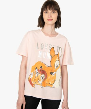Tee-shirt femme oversize avec motif XXL - Disney vue1 - DISNEY DTR - Nikesneakers
