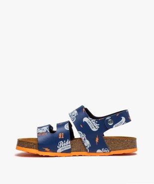 Sandales garçon imprimées à brides scratch vue3 - Nikesneakers (ENFANT) - Nikesneakers