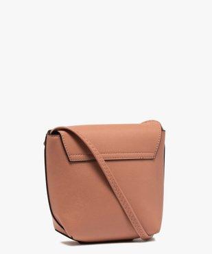 Sac besace femme petit format design minimaliste vue2 - GEMO (ACCESS) - GEMO