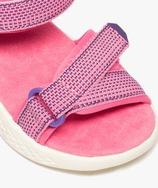 Sandales sport fille extra-légères à scratch vue6 - GEMO (ENFANT) - GEMO