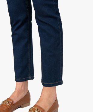 Jean femme extensible coupe Regular - Longueur L26 vue2 - GEMO(FEMME PAP) - GEMO