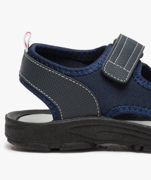 Sandales garçon à semelle crantée et fermeture scratch vue6 - Nikesneakers (ENFANT) - Nikesneakers