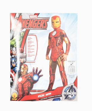 Déguisement enfant Iron Man - Marvel (2 pièces) vue4 - MARVEL - GEMO