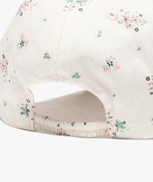 Casquette fille à motifs fleuris avec inscription brodée vue3 - GEMO (ENFANT) - GEMO