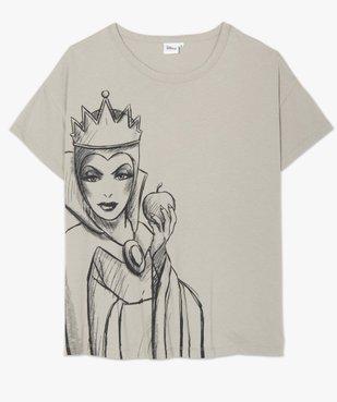 Tee-shirt femme avec motif femme - Disney vue4 - DISNEY DTR - GEMO