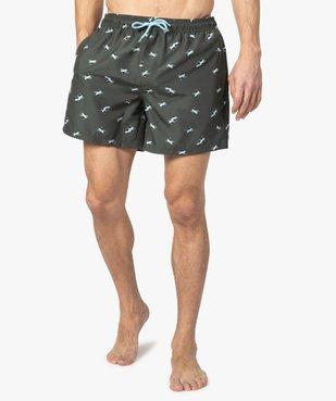 Short de bain homme en polyester recyclé - Gémo x Surfrider vue1 - SURFRIDER DTR - GEMO
