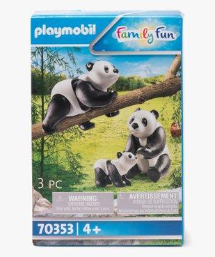 Jouet enfant Pandas - Playmobil vue1 - DIVERS LICENCE - GEMO