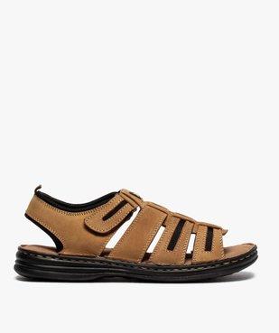Sandales homme multibrides à scratch - Roadsign vue1 - ROADSIGN - GEMO