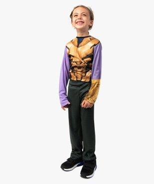 Déguisement enfant Thanos - Marvel Avengers (2 pièces) vue5 - MARVEL - GEMO