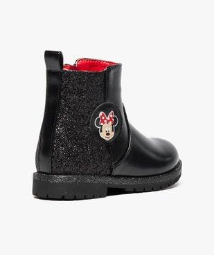 Boots pailletées avec motif Minnie - Disney vue4 - MINNIE - GEMO