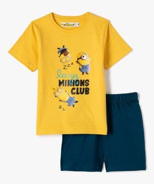 Pyjashort garçon bicolore – Les Minions 2 vue2 - NBCUNIVERSAL - GEMO