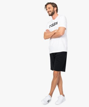 Tee-shirt homme avec inscription contrastante – Adidas vue5 - ADIDAS - GEMO