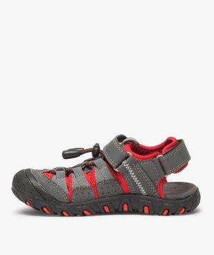 Sandales garçon multi-matières tout terrain vue3 - Nikesneakers (ENFANT) - Nikesneakers