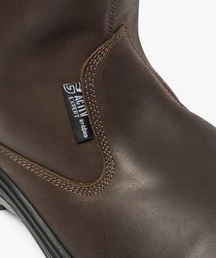 Chaussures professionnelles homme bottes de sécurité vue6 - GEMO (EQUIPT) - GEMO