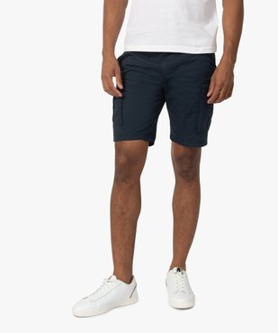 Bermuda homme multipoche à taille élastiquée vue1 - Nikesneakers (HOMME) - Nikesneakers