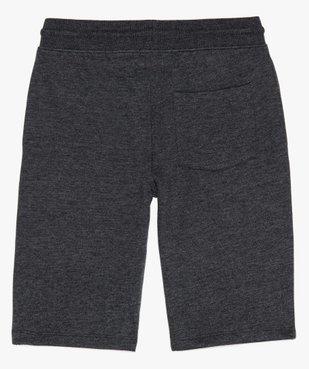 Bermuda garçon à taille élastiquée en jersey molletonné vue2 - GEMO (JUNIOR) - GEMO