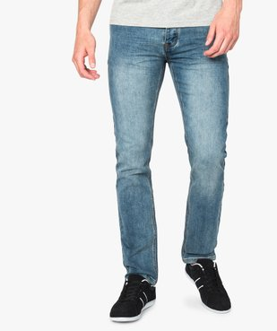 Jean homme coupe straight vue1 - GEMO (HOMME) - GEMO
