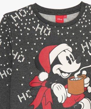 Sweat de Noël avec motif Mickey - Disney vue2 - MICKEY - GEMO