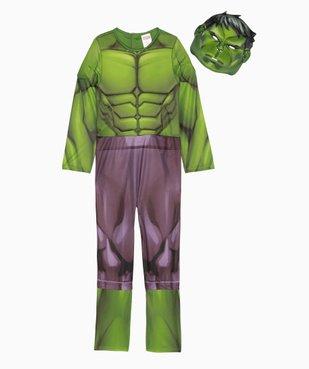 Déguisement enfant Hulk - Marvel (2 pièces) vue2 - MARVEL - GEMO