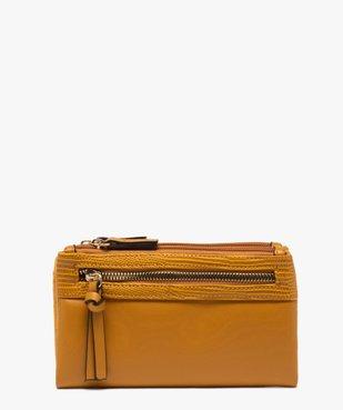 Portefeuille femme multimatière vue1 - GEMO (ACCESS) - GEMO
