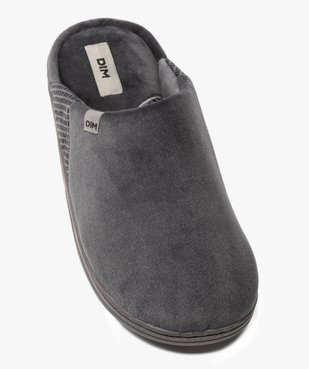 Chaussons homme mules en velours - Dim vue5 - DIM - Nikesneakers