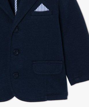 Veste bébé garçon en maille confortable vue2 - GEMO(BEBE DEBT) - GEMO