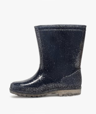 Bottes de pluie fille pailletées – LuluCastagnette vue3 - LULU CASTAGNETT - Nikesneakers