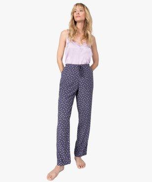 Pantalon de pyjama femme à motifs fleuris vue5 - Nikesneakers(HOMWR FEM) - Nikesneakers