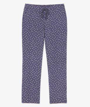 Pantalon de pyjama femme à motifs fleuris vue4 - Nikesneakers(HOMWR FEM) - Nikesneakers
