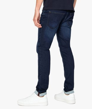 Jean homme coupe slim extensible vue3 - GEMO (HOMME) - GEMO