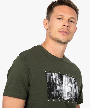 Tee-shirt homme à manches courtes imprimé Japon vue2 - GEMO (HOMME) - GEMO