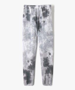 Pantalon de jogging fille bicolore effet tie and dye vue5 - GEMO (JUNIOR) - GEMO