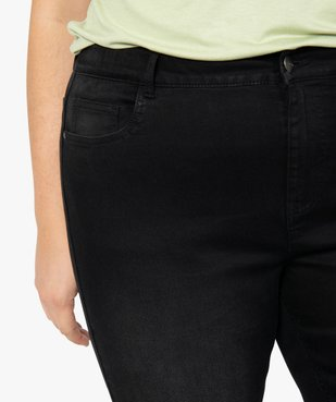Jean femme slim 5 poches taille normale vue2 - GEMO (G TAILLE) - GEMO
