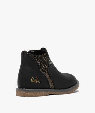 Boots bébé fille zippées à détails pailletés – Lulu Castagnette vue4 - LULU CASTAGNETT - GEMO