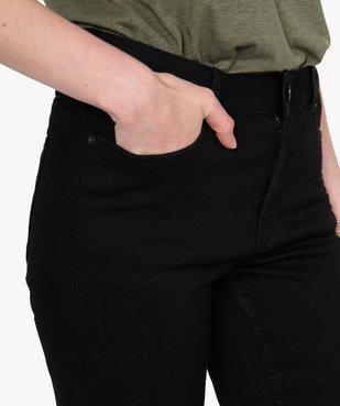 Jean femme skinny taille normale noir vue2 - GEMO(FEMME PAP) - GEMO