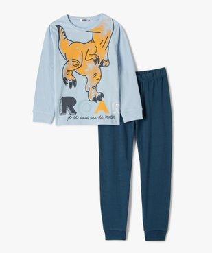 Pyjama garçon avec motif dinosaure vue1 - GEMO (ENFANT) - GEMO
