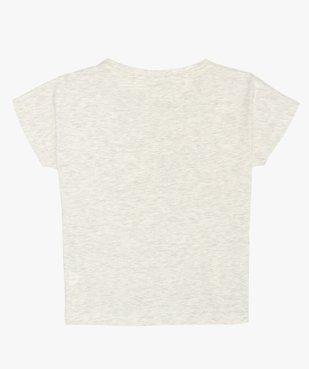 Tee-shirt fille imprimé coupe loose - Kappa vue2 - KAPPA - Nikesneakers