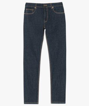 Jean homme straight stretch 5 poches vue4 - GEMO (HOMME) - GEMO