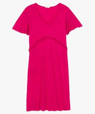 Robe de grossesse col V avec bande froncée vue4 - Nikesneakers (MATER) - Nikesneakers