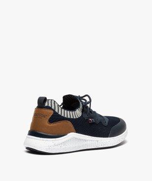 Baskets homme style chaussettes à lacets - Roadsign vue4 - ROADSIGN - GEMO
