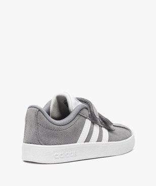 Basket basse cuir à scratchs - Adidas vue4 - ADIDAS - GEMO