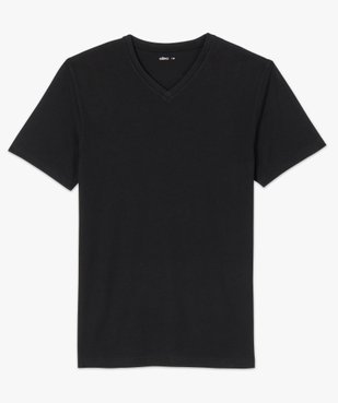 Tee-shirt homme à manches courtes et col V vue4 - GEMO C4G HOMME - GEMO