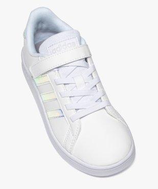 Baskets fille à détails irisés – Adidas Grand Court vue5 - ADIDAS - Nikesneakers