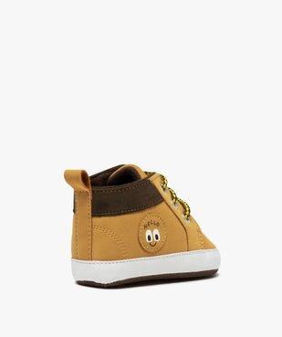 Chaussons de naissance bébé garçon style boots à lacets vue4 - Nikesneakers C4G BEBE - Nikesneakers