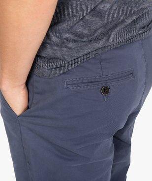 Pantalon chino homme en coton stretch vue2 - Nikesneakers (HOMME) - Nikesneakers