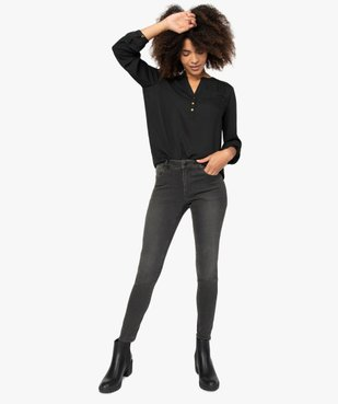 Jean femme coupe skinny taille normale vue1 - GEMO(FEMME PAP) - GEMO