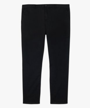Pantalon homme chino en stretch coupe straignt vue4 - GEMO (G TAILLE) - GEMO