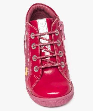 Chaussures montantes en cuir et cuir verni - Absorba vue5 - ABSORBA - GEMO