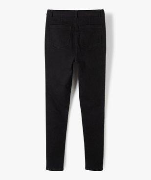 Pantalon fille coupe Ultra Skinny taille haute vue3 - GEMO (JUNIOR) - GEMO